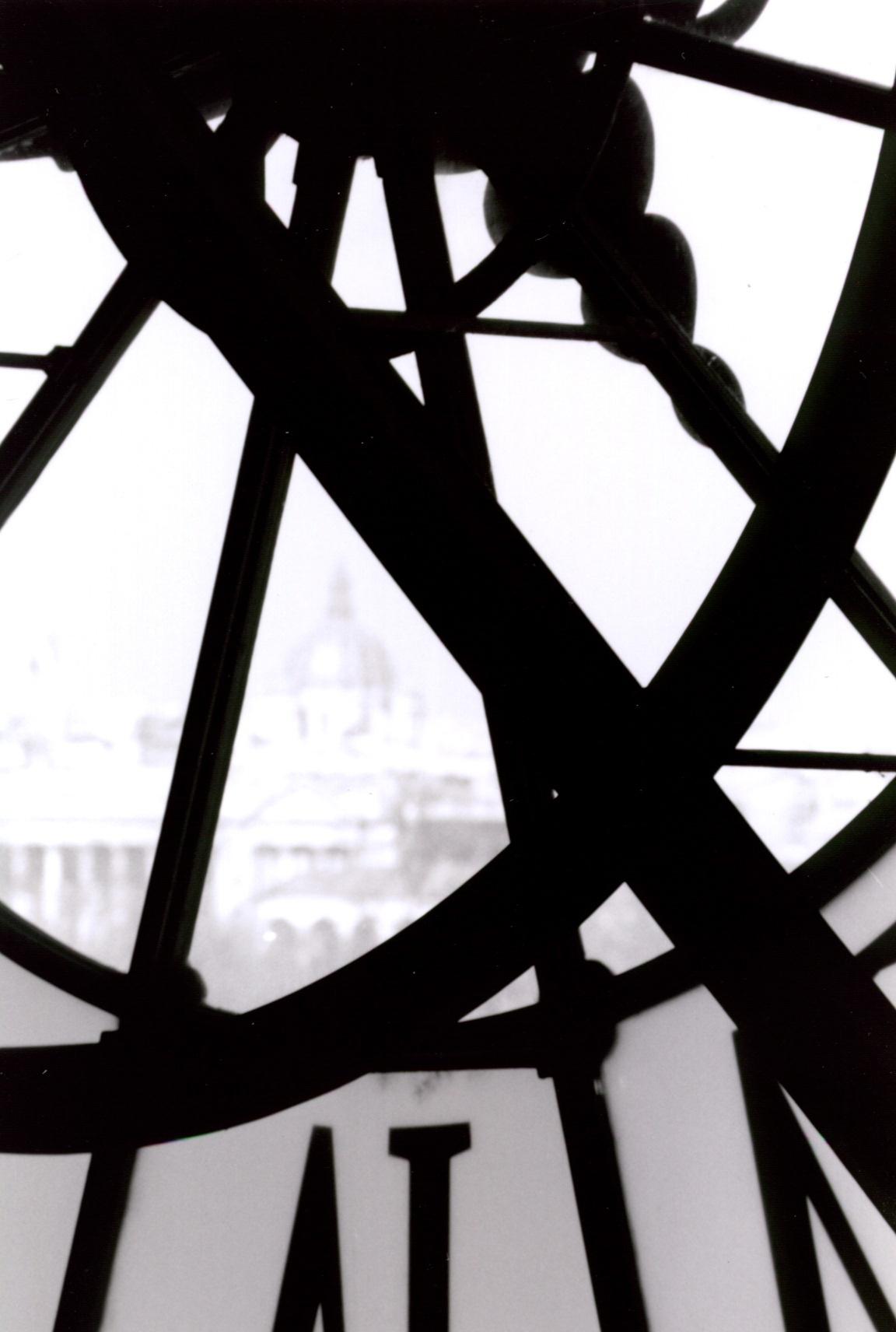 Paris (Montmartre Seen from the Musée d'Orsay Clock Tower)