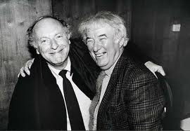 Irish poet Seamus Heaney with Joseph Brodsky