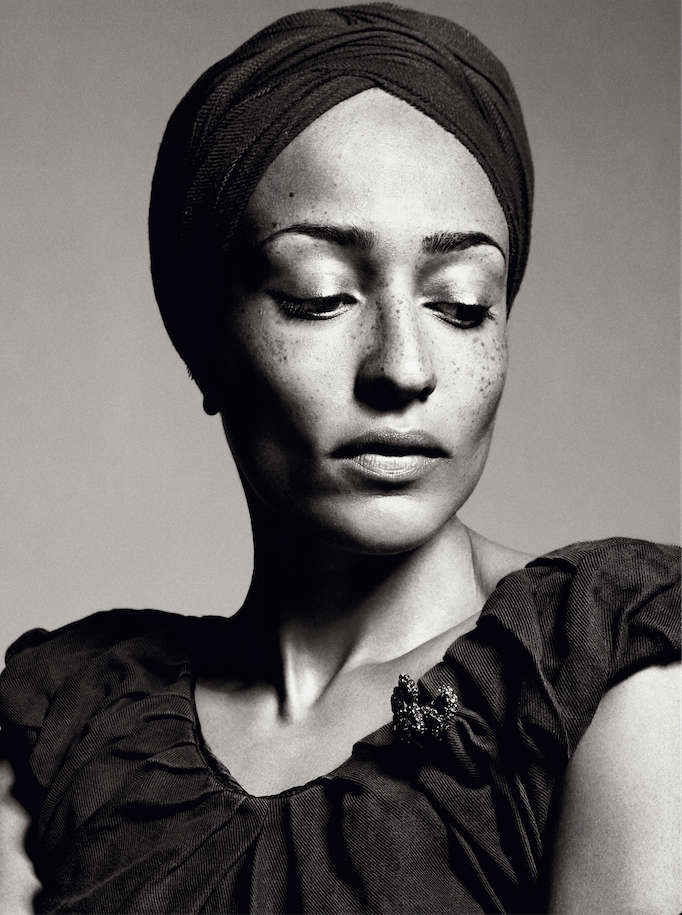 Zadie Smith - photographed by Sebastian Kim