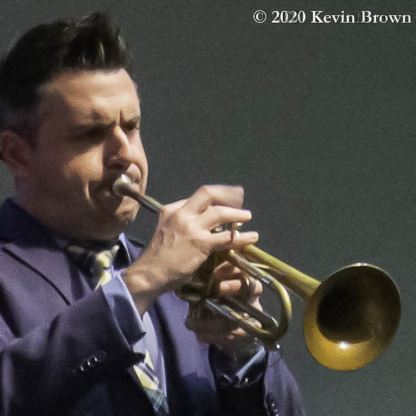 Trumpeter John Reynolds