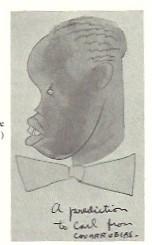 Migual Covarrubia - Carl Van Vechten Caricature