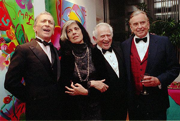 Norman Mailer, Susan Sontag, Gay Talese, Gore Vidal